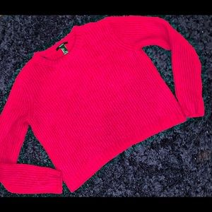 Forever 21 | Ribbed Crop Oversized Sweater | NWOT